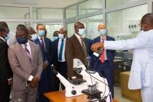 Visite - Ministre Diawara centre WASCAL/CEA-CCBAD